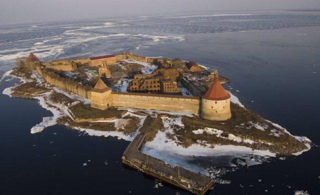 Шлиссельбургская крепость: где находится, история, как добраться