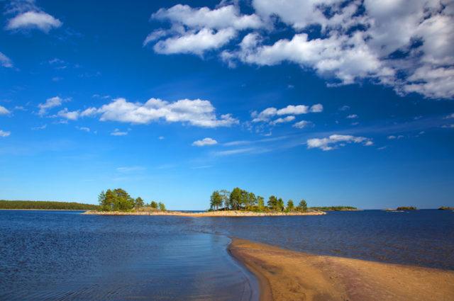 Остров Койонсаари в Карелиии