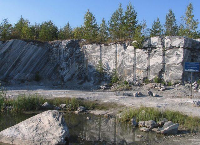 Мраморный каньон в Сортавале
