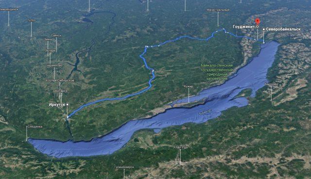 Гоуджекит в Забайкалье: где находятся термальные источники, фото