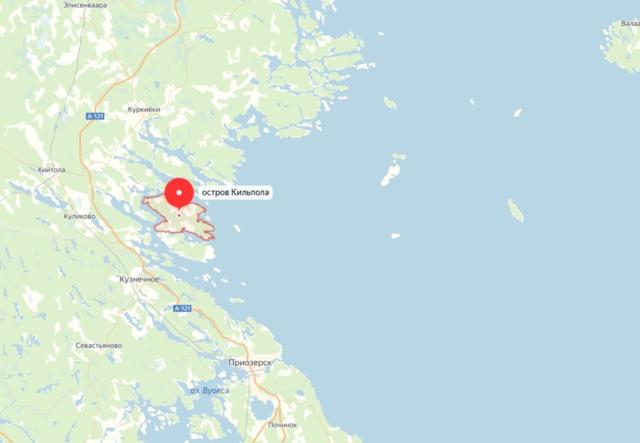 Карта острова Кильпола