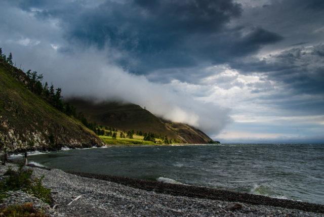 Мухорский залив на Байкале