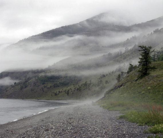 Рытый мыс на Байкале: великаны, аномальные зоны