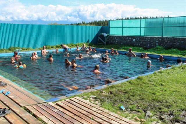 Термальные источники Байкала зимой и летом