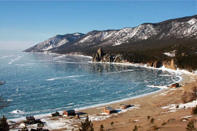 Бухта Песчаная на Байкале на карте: базы отдыха, фото